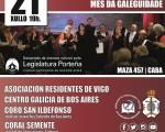 """El """"Mes da Galeguidade"""" se celebrará en la Asociación Tuy Salceda"""