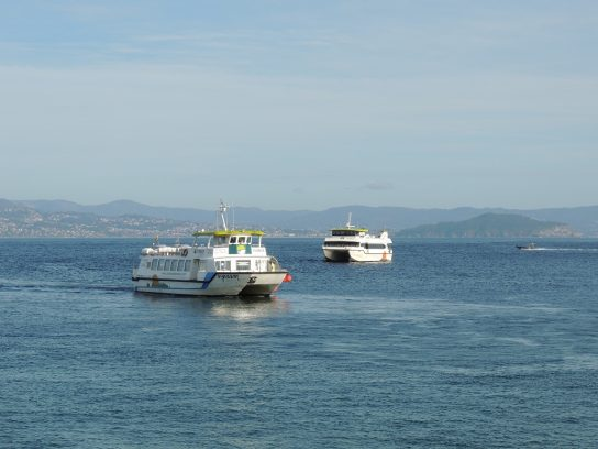Islas Cíes. Vigo. Galicia. España
