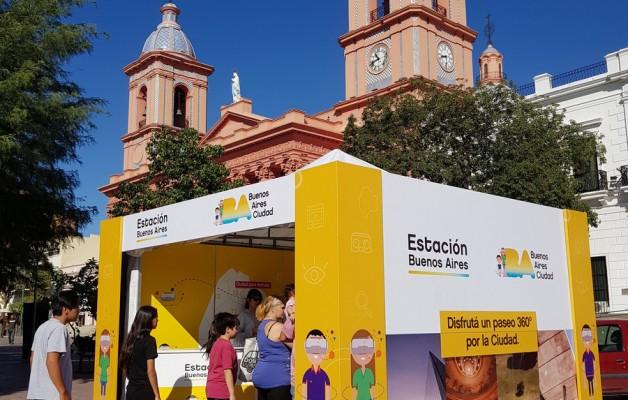 Estación Buenos Aires acompañará la llegada de la Llama Olímpica de la Juventud