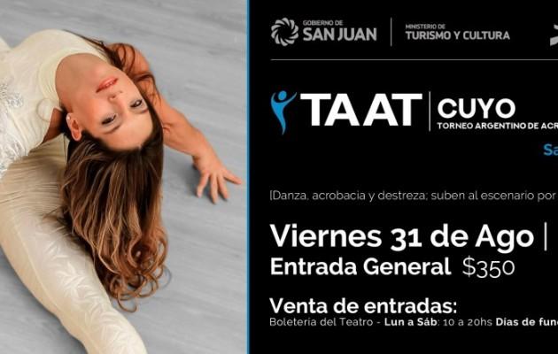 El Torneo Argentino de Acrotelas se disputará en el Teatro del Bicentenario de la Ciudad de San Juan