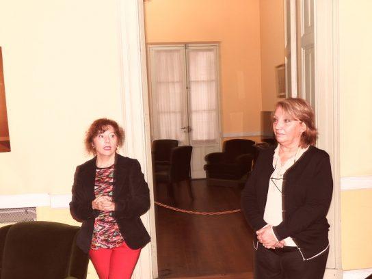Ana María López y Silvana Hernández