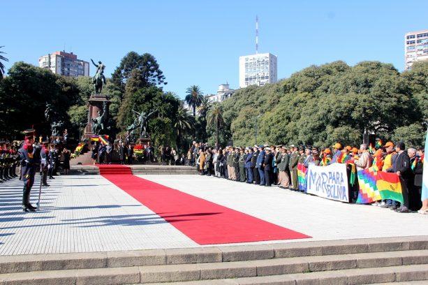 El 193 Aniversario de la Independencia de Bolivia se celebró en el Círculo de la Fuerza Aérea
