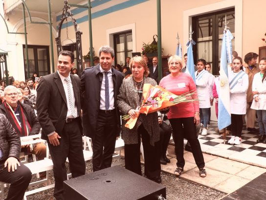 CPN, Juan Flores, Dr. Sergio Uñac y Ana María López