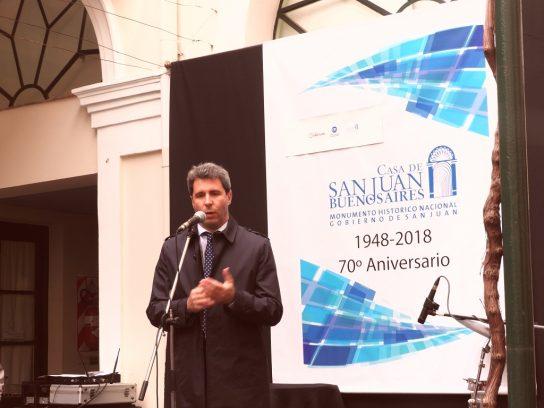 Dr. Sergio Uñac, gobernador de San Juan