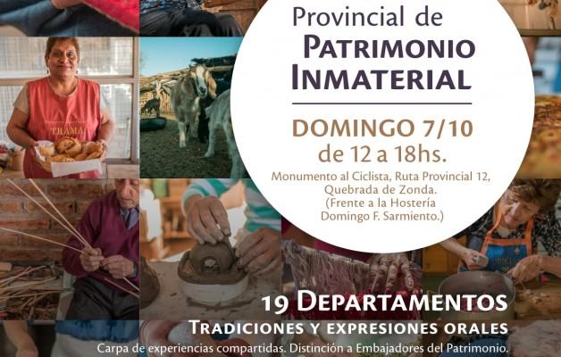 San Juan celebrará el Día Nacional del Patrimonio Cultural en la Quebrada del Zonda