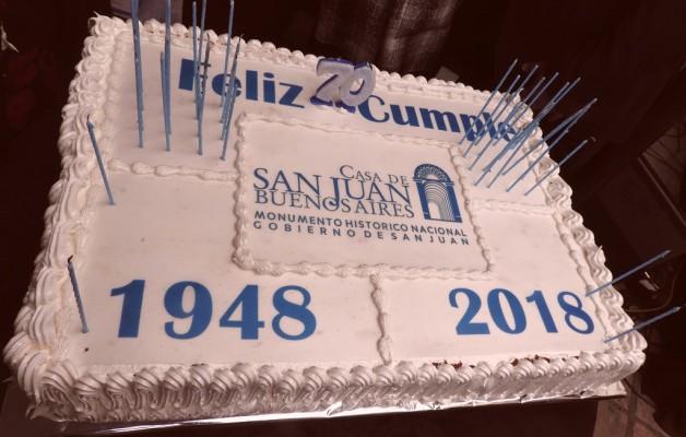 La Casa de San Juan en Buenos Aires celebró 70 años de historia