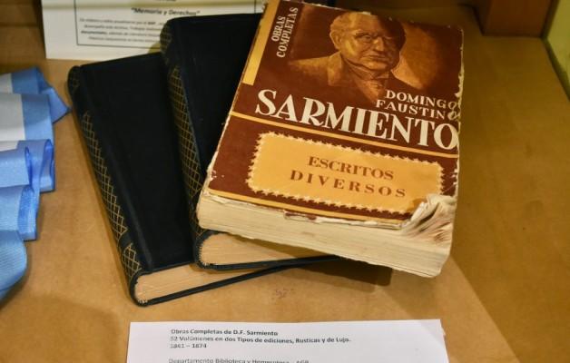 La historia de Sarmiento se expone en una Muestra Documental en la ciudad de San Juan