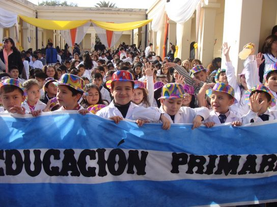 """La Escuela Superior """"Fray Justo Santa María de Oro"""", la vigencia de una historia centenaria"""