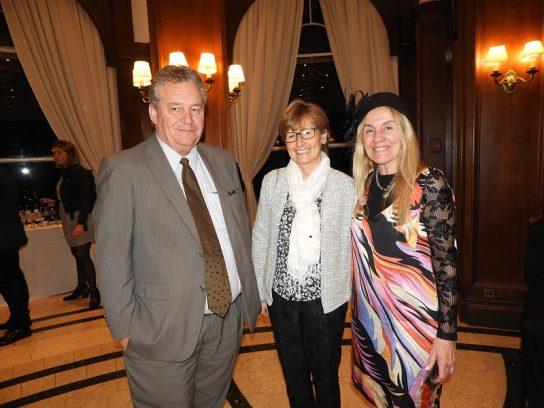 Embajador de Bélgica S.E. Peter Maddens y Sra.