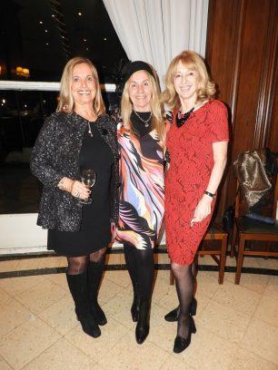 Irene Lamborena de Fullin, Arq. Adriana Piastrellini y Lic. Marina Drioli de Prina