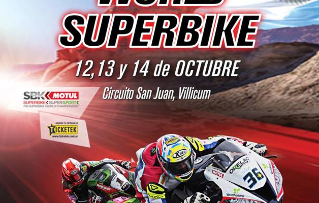 El Superbike se realizará por primera vez en la provincia de San Juan