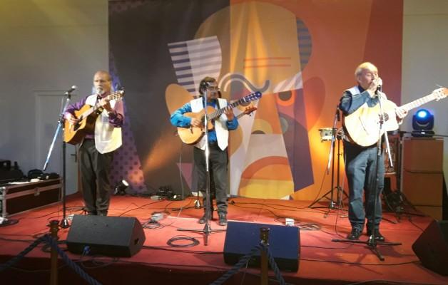 El grupo folclórico Inti Huama se presentó en la Noche de los Museos 2018
