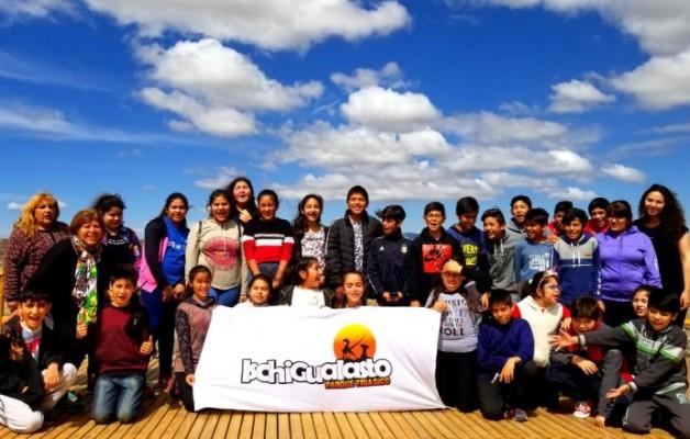 """""""Mis Huellas"""", el programa educativo trabaja sobre el Turismo y Patrimonio de Ischigualasto"""