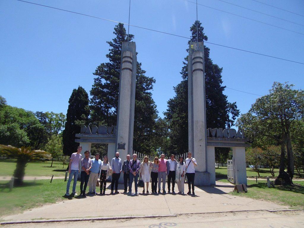 Grupo que visitó Alberti