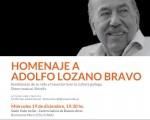 Homenaje a Adolfo Lozano Bravo en el Centro Galicia de Buenos Aires