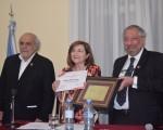 La escritora María Rosa Lojo recibió el Gran Premio de Honor 2018 de la SADE