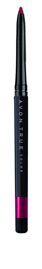 AVON True Color Glimmerstick Lápiz Delineador Retráctil para Labios