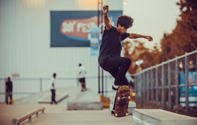 En Tecnópolis funciona una de las pistas de skate más grandesde la Argentina