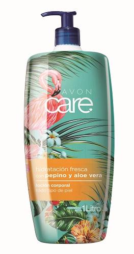 AVON Care Hidratación Fresca con Pepino y Aloe Vera Loción Corporal 1 L