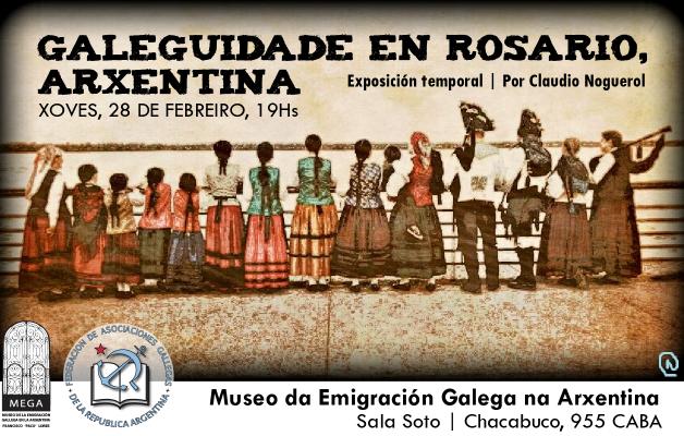 Galeguidade en Rosario, Arxentina, una exposición de pintura digital de Claudio Noguerol