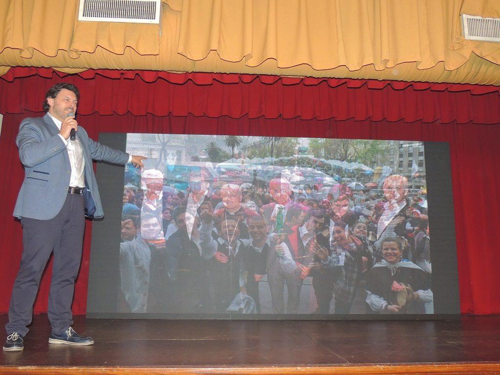 Don Antonio Rodríguez Miranda Secretario Xeral da Emigración de la Xunta de Galicia