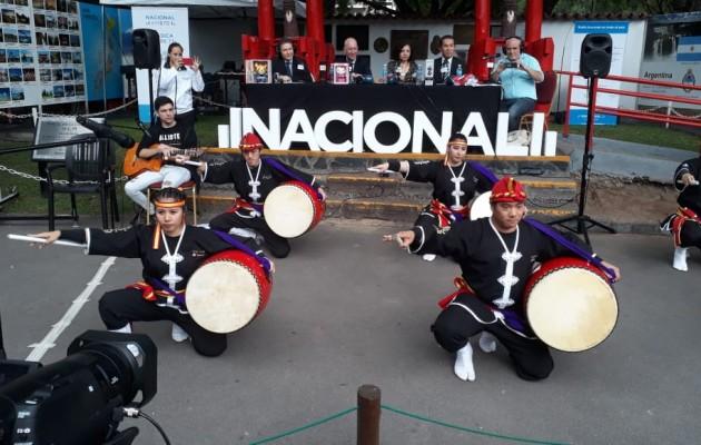 El Jardín Japonés abrió sus puertas al encuentro #5Embajadores, transmitido por Radio Nacional