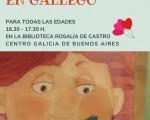 El Centro Galicia de Bs. As. celebrará el Día de la Narración Oral