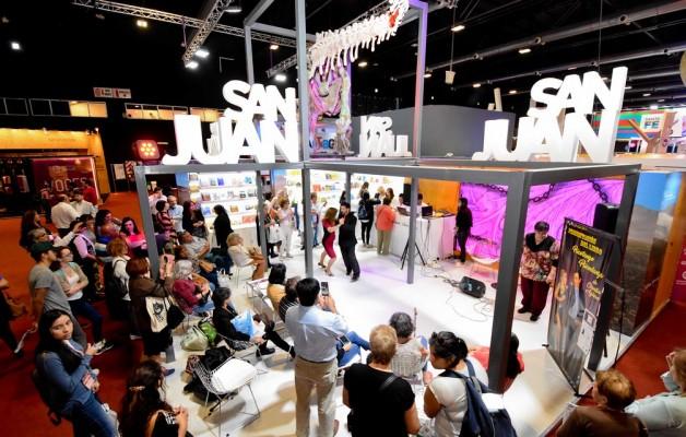 San Juan Patrimonial, dejó su huella cultural en la Feria Internacional del Libro