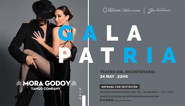Mora Godoy bailará en el Teatro del Bicentenario en la noche de la Gala Patria