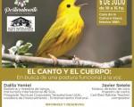 """El taller """"El canto y el cuerpo"""", se realizará en Eusko Kultur Etxea"""