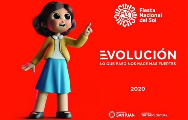 """La """"Evolución"""", marcará la huella viva de San Juan en la Fiesta del Sol 2020"""