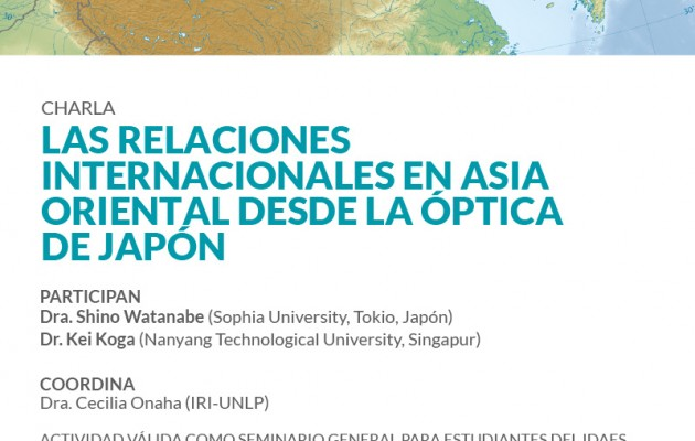 Las Relaciones Internacionales en Asia Oriental desde la óptica de Japón