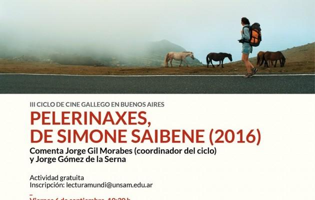 """El III Ciclo de Cine Gallego en Bs. As. Proyectará: """"Pelerinaxes"""" de Simone Saibene"""