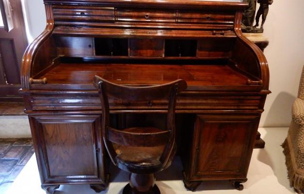 La Sala Gobernación, un espacio histórico que se recorre en la Casa Natal de Domingo Faustino Sarmiento