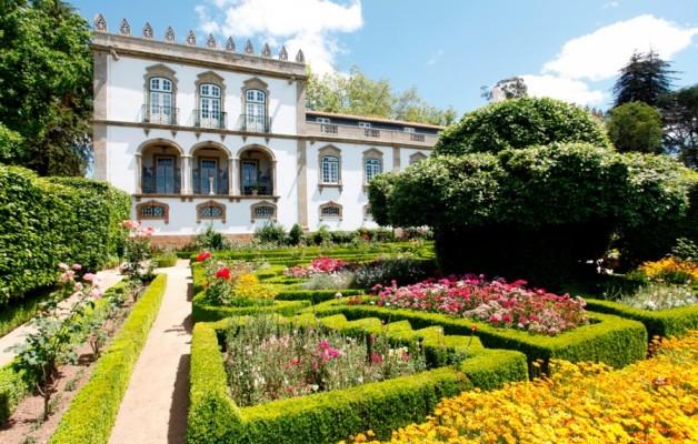 El Parador Casa da Ínsua, un edificio de estilo barroco, en Portugal