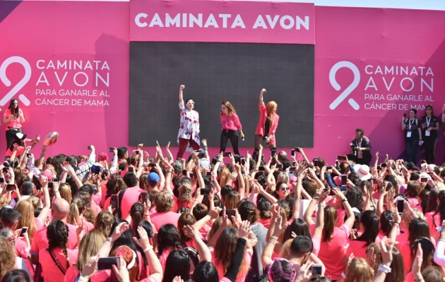 Fundación AVON convocó a más de 15 mil personas para ganarle al Cáncer de Mama