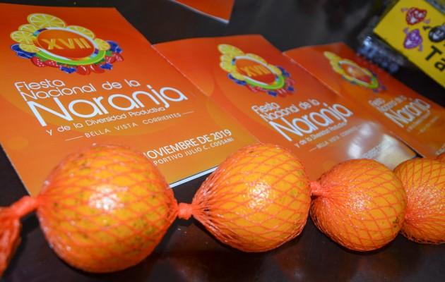 La Fiesta Nacional de laNaranja y la Diversidad Productiva se realizará en Bella Vista, Corrientes