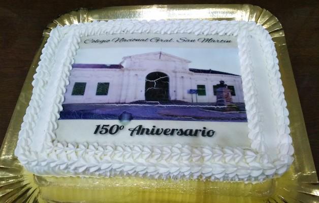 """El Colegio Nacional """"Gral. San Martín"""" celebró 150 años de historia en la ciudad de Corrientes"""