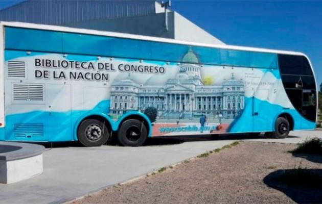 El Congreso de la Nación instalará su Bibliomóvil en el predio de la Fiesta Nacional del Sol 2020