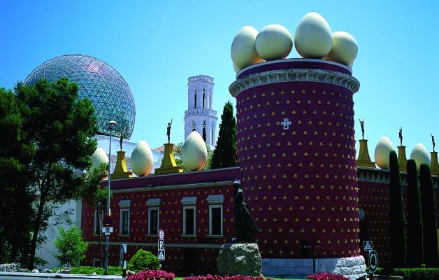 El Teatro Museo Dalí, un espacio donde el artista concentró su riqueza artística y cultural