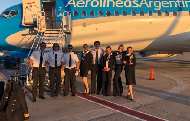 Aerolíneas Argentinas, el regreso a casa de los argentinos en tiempos de Covid-19