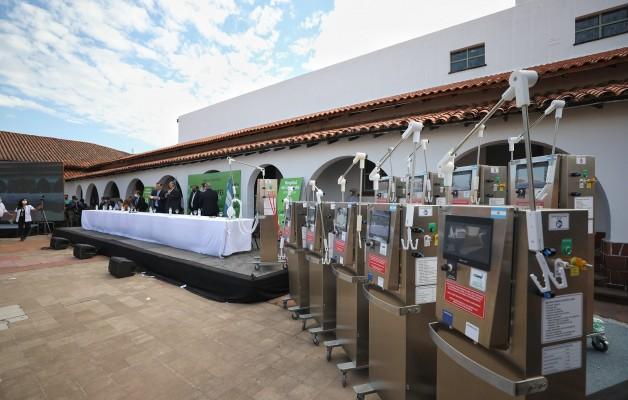 """""""Un Respiro"""", el ventilador para Covid-19 comenzó a producirse en Corrientes"""