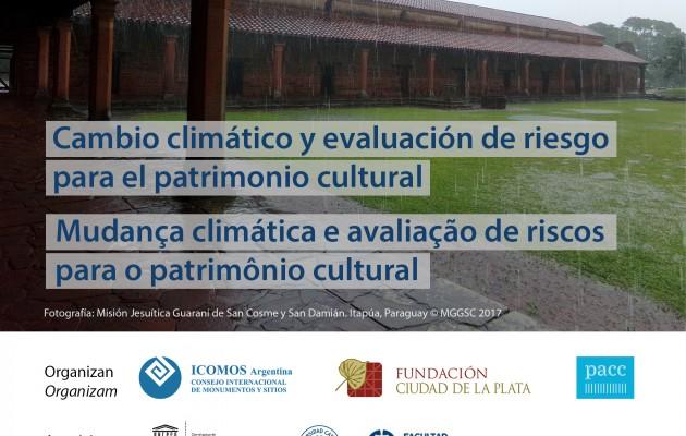 """Cambio climático y evaluación de riesgo para el Patrimonio Cultural"""", un curso online que propone acciones para su conservación"""