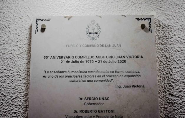 San Juan celebró el 50º aniversario del Auditorio Juan Victoria, joya de la arquitectura moderna