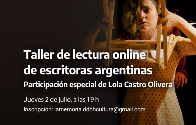 Lectura online de obras de escritoras argentinas en cuarentena