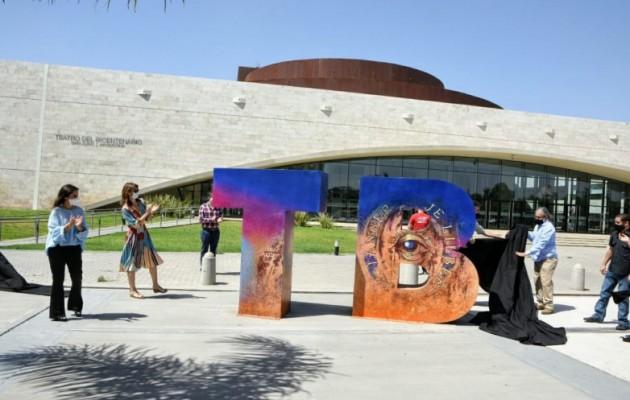 La Flauta Mágica, presente en las letras icónicas del Teatro del Bicentenario