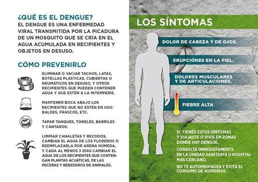 OSPAÑA y el tratamiento del dengue
