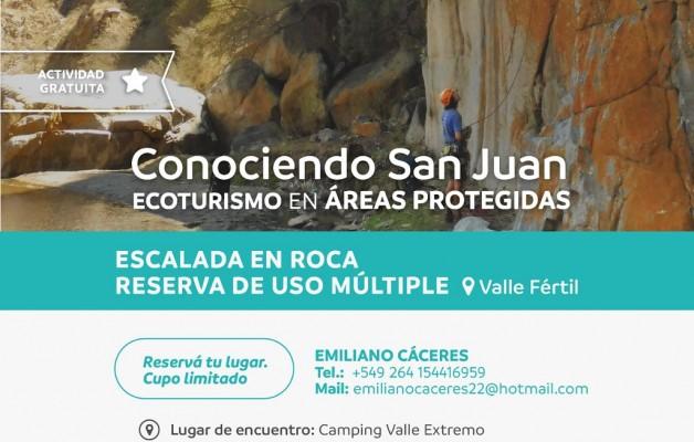 El Parque Natural Valle Fèrtil, un circuito elegido para disfrutar del turismo interno de San Juan