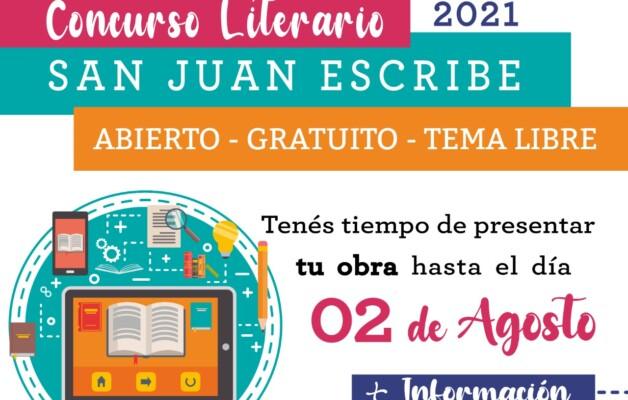 San Juan Escribe, el concurso que une a través de la escritura y premia al talento sanjuanino
