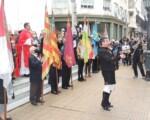 El Día de Galicia en Buenos Aires reunió a gaiteros gallegos y asturianos dirigidos por el maestro Alberto López